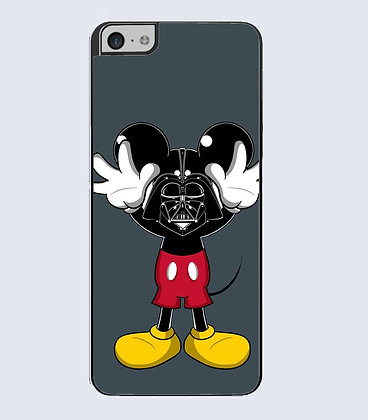 Coque mobile iphone mouse dark