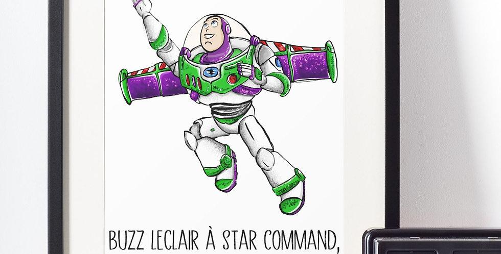 Affiche citation Buzz l'éclair 445