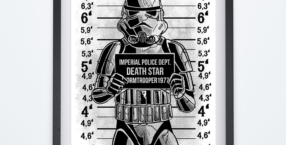 Affiche Star trooper Death Star 86