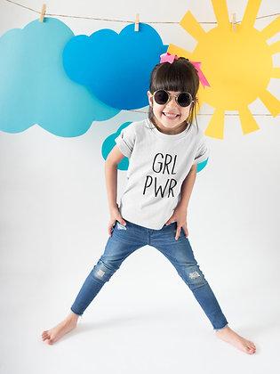 T-shirt Enfant Girl power