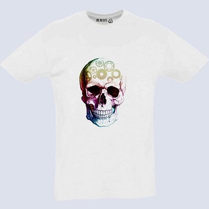 T-Shirt Unisexe Tête de mort vintage