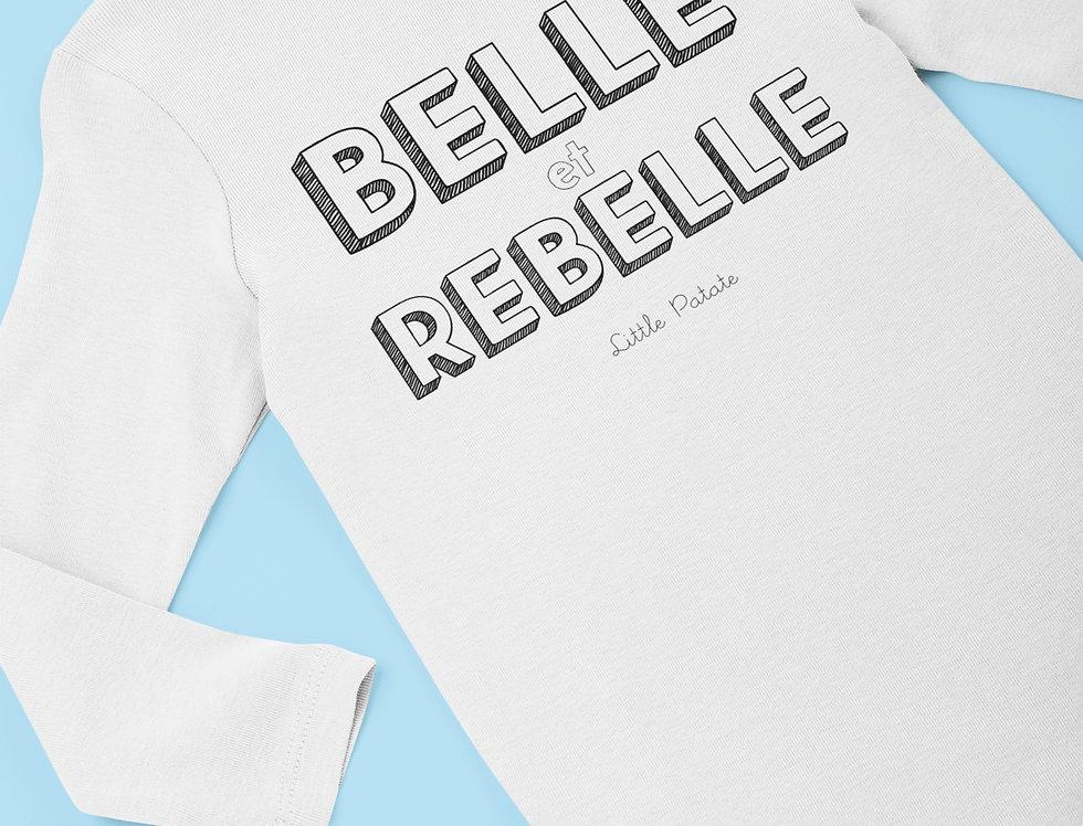 Body Bébé Belle et rebelle 93