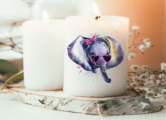 licorne panda bougie pas cher imprimée, idée deco tendance pas cher, idée cadeau noël, idée cadeau pas cher cadeau