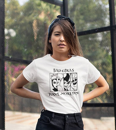 T-shirt Bad Girls are more fun