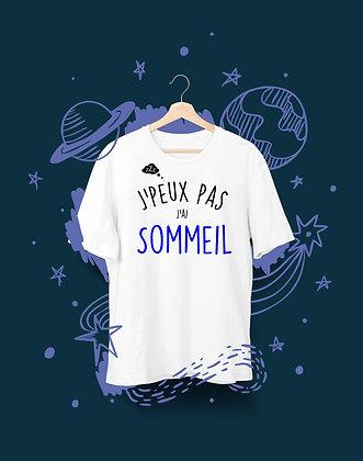 T-shirt Sweat Enfant j'peux pas j'ai sommeil