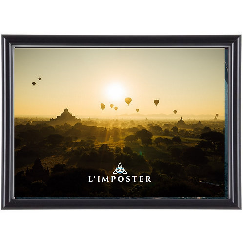Affiche Paysage Indien photo paysage
