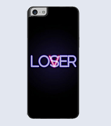 Coque mobile iPhone Lover or loser 786