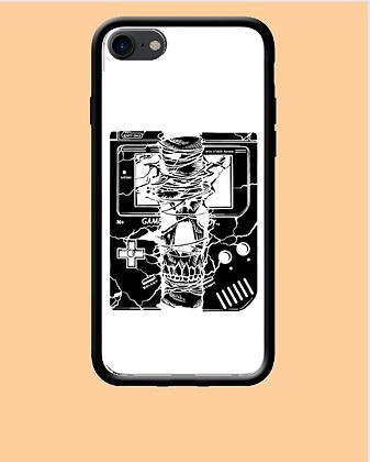 Coque mobile Iphone Game boy cassé geek 296
