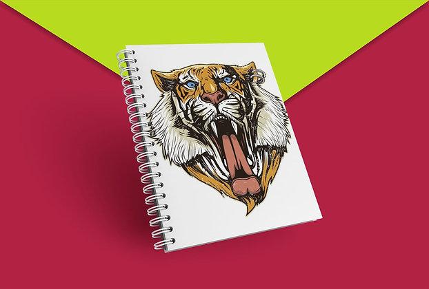 Cahier à spirale Tigre