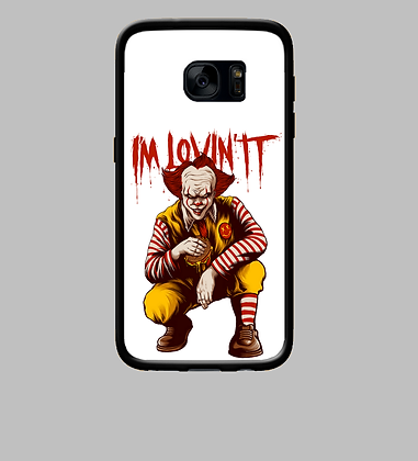 Coque mobile Samsung clown tueur 316