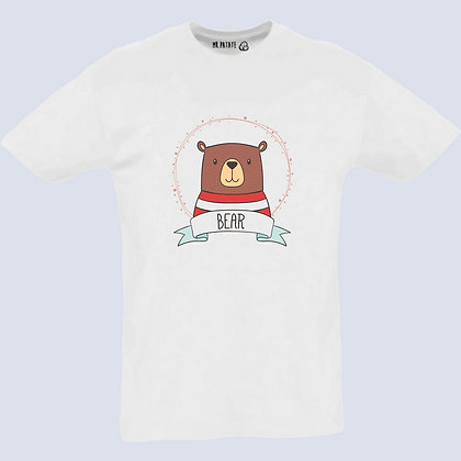 T-Shirt Unisexe ours origami
