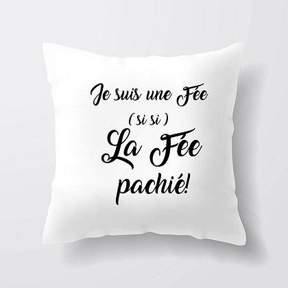 Housse de coussin La fée Pachié Citation 181