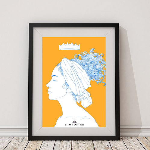 Affiche Femme Queen