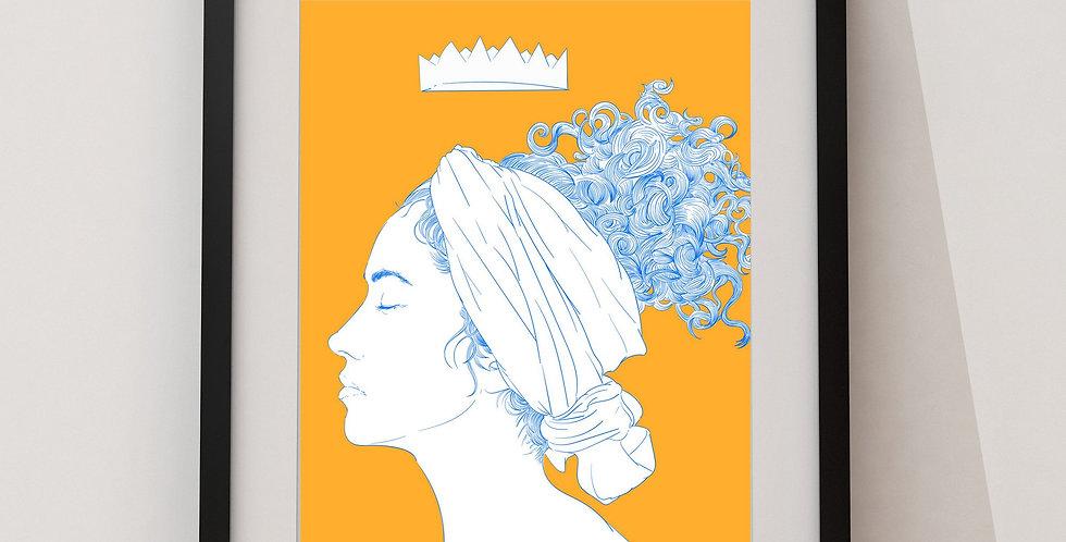 Affiche Femme Queen 35