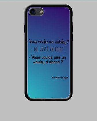 Coque mobile iPhone whisky 202