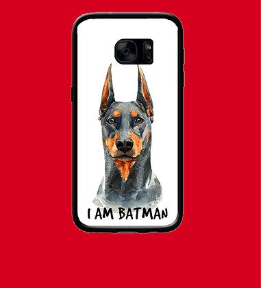 Coque mobile samsung chien batman 184