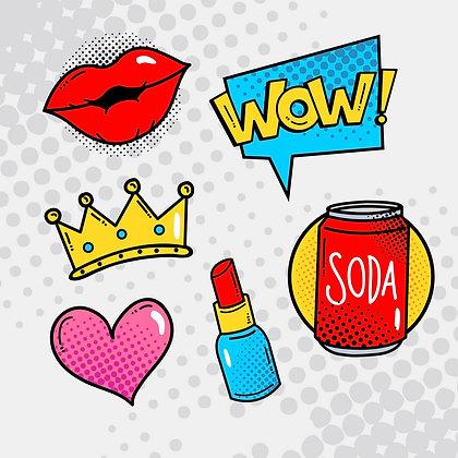 Stickers Personnalisés Kiss emoji 06