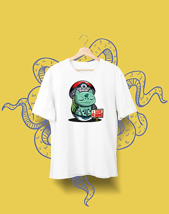 T-shirt Sweat Enfant Pokemon Stay at home