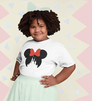 T-shirt Sweat Enfant Minnie et château