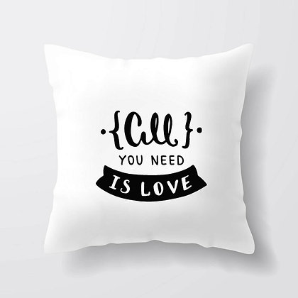 Housse de coussin All you need is love Citation 58