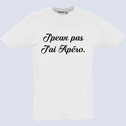 T-Shirt Unisexe J'peux pas j'ai apéro
