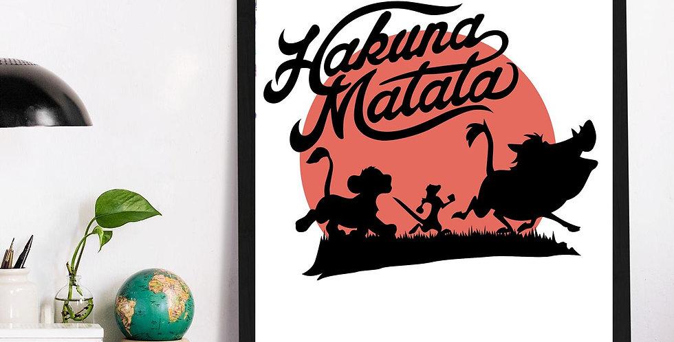 Affiche Hakuna Matata 547