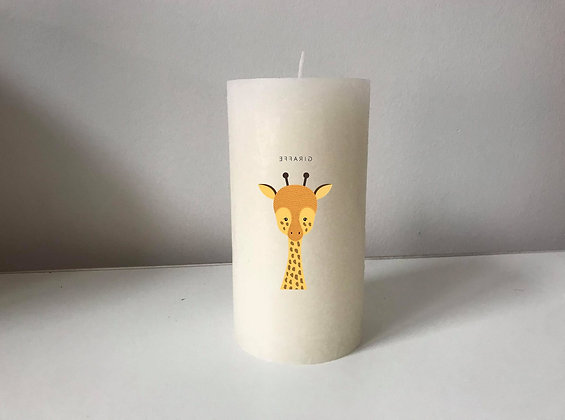 Bougie Personnalisée Nany Candle girafe