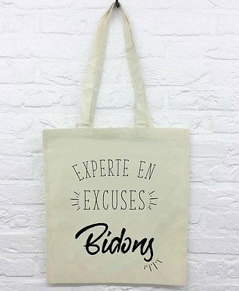 Tote Bag Experte en excuses