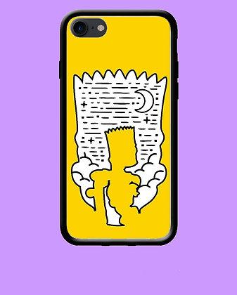 Coque mobile iPhone Bart Simpson 49