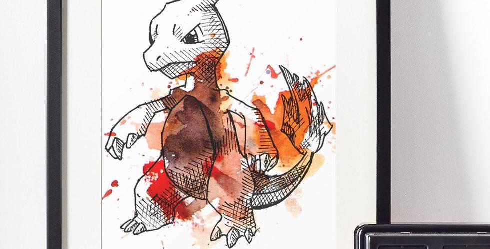 Affiche Dessin Pokemon 464