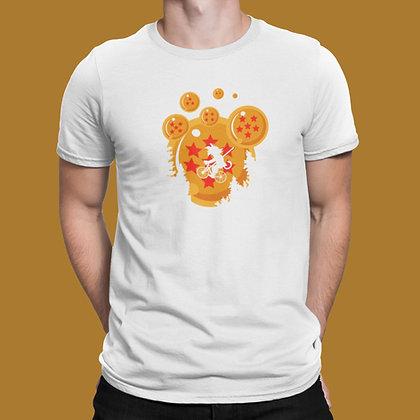 T-shirt Dragon ball sangohan les boules de cristal