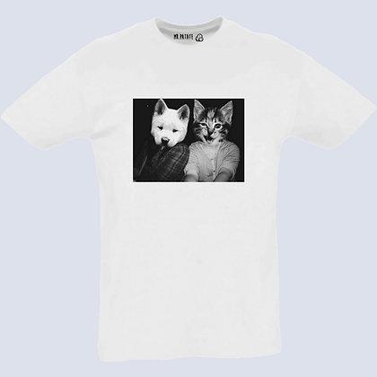 T-Shirt Unisexe Petit Chat