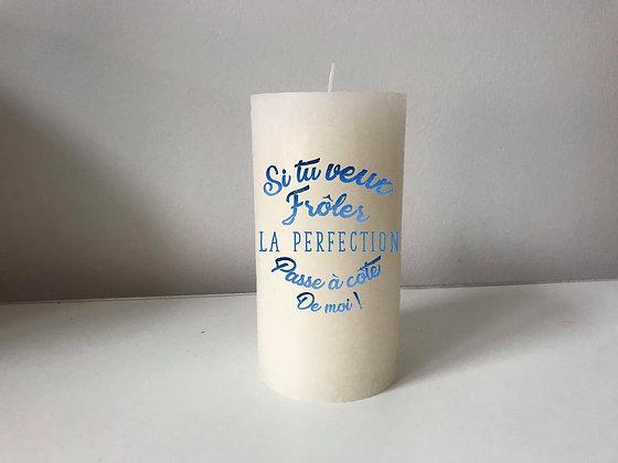 Bougie Personnalisée Nany Candle si t veux froler la perfection ...