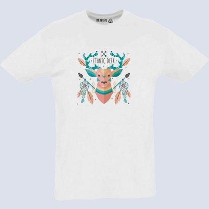 T-Shirt Unisexe Cerf ethnic attrape rêves
