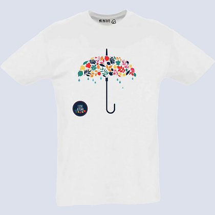 T-Shirt Unisexe Parapluie watercolor