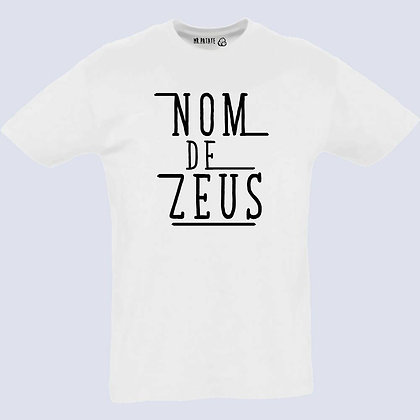 T-shirt unisexe Nom de zeuz