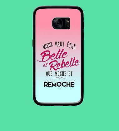 Coque mobile samsung belle et rebelle 112