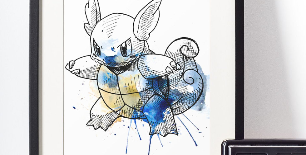 Affiche Dessin Pokemon 466