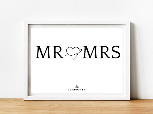 Affiche citation Mr et Mrs