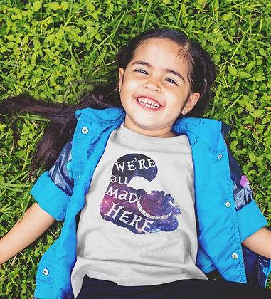 T-shirt Sweat Enfant Chat de Cheshire Alice