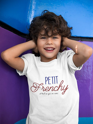T-shirt Petit Frenchy et tout ce qui va avec