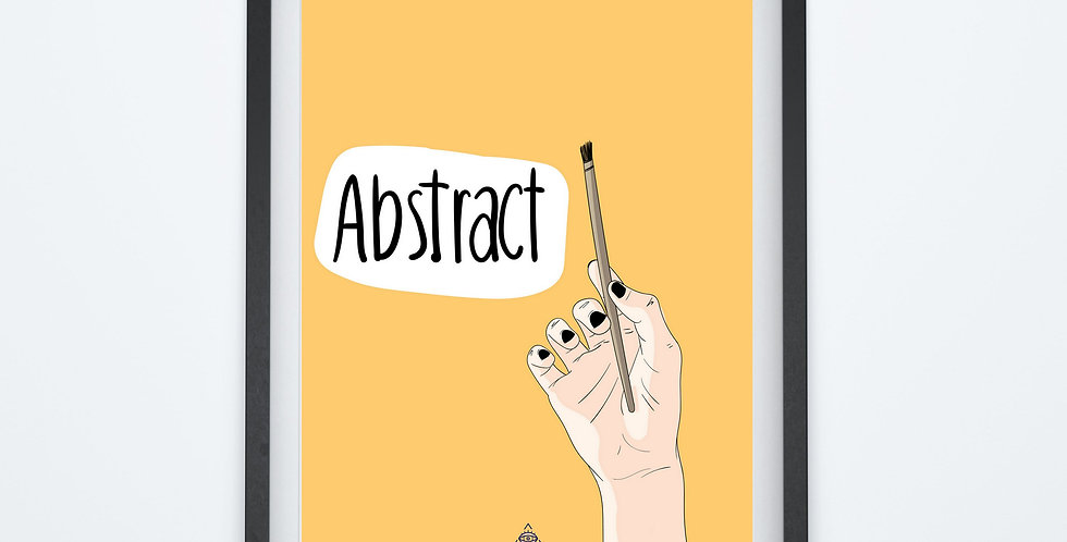 Affiche Abstract 21