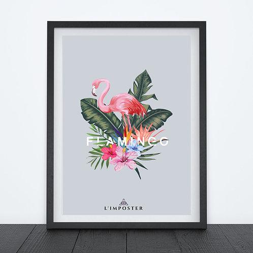 Affiche citation Flamingo