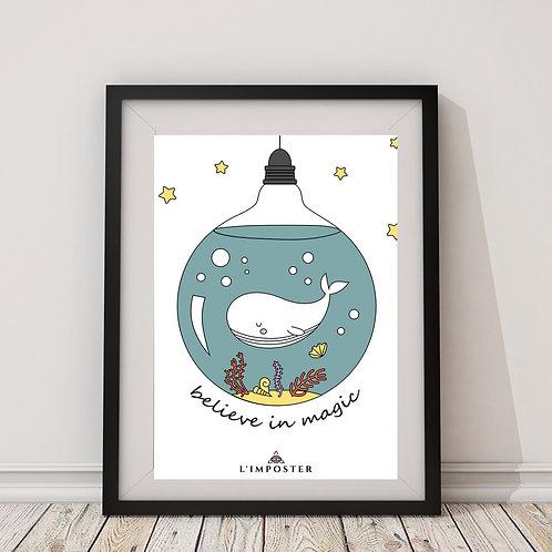 Affiche citation baleine