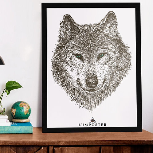 Affiche Loup poster