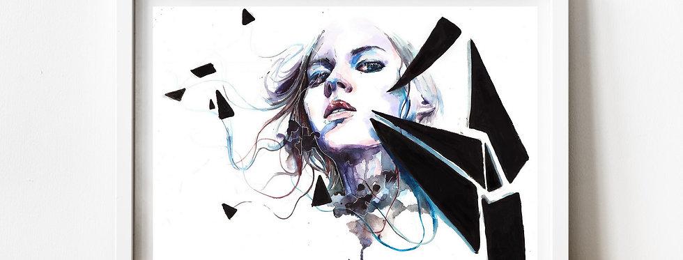 Affiche Femme watercolor 42