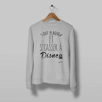 Sweat Pull Over Tout plaquer pour Disney By Badass