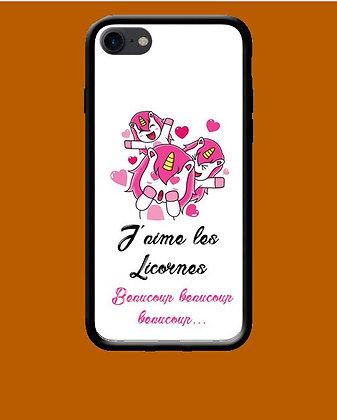 Coque mobile iPhone licorne 166