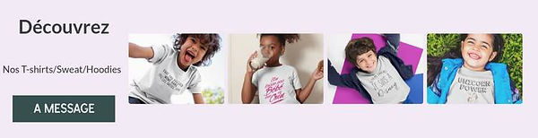 t-shirt pull hoodies pour enfant a message citation drole