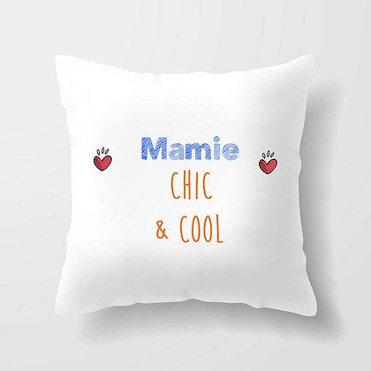 Housse de coussin Mamie Chic et cool Citation 51